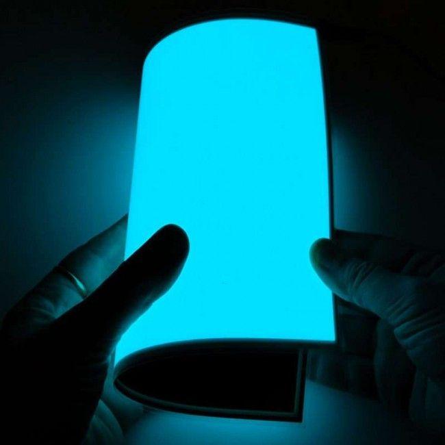 Visuel électroluminescent A4