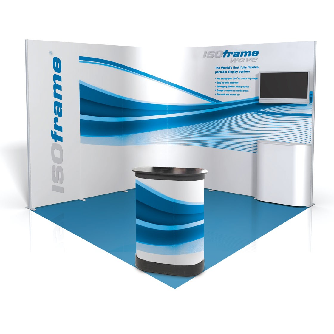 Stand Flexible Wave 9m2