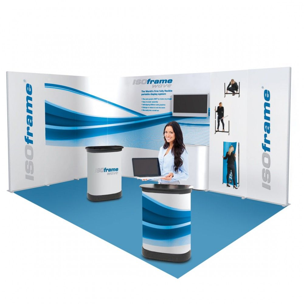 Stand ISOframe 12m2