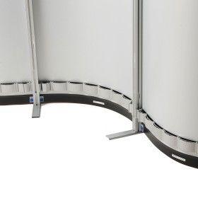 Configuration de stand entièrement flexible