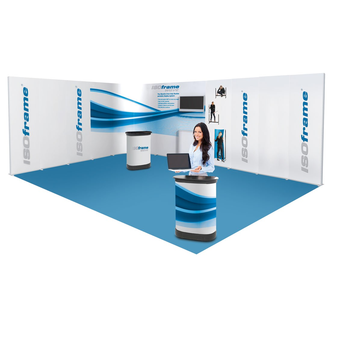 Stand ISOframe Wave 18m2