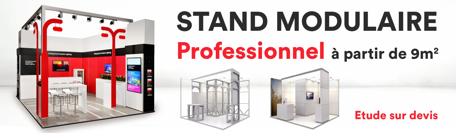 stand modulable professionnel