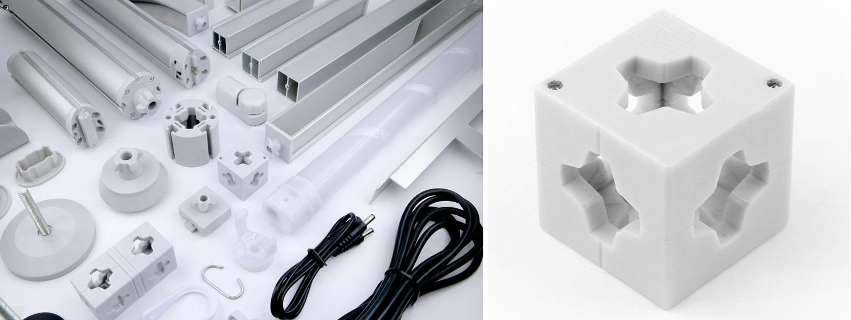 Connecteur T3 3D
