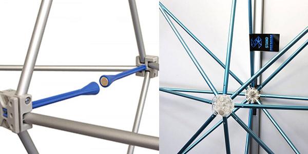fixation des stand parapluie Eco et Premium
