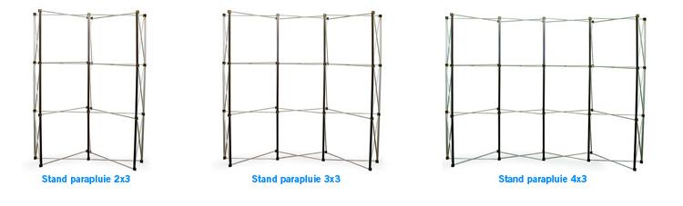 Comment choisir son stand parapluie pvc for Stand parapluie 3x3