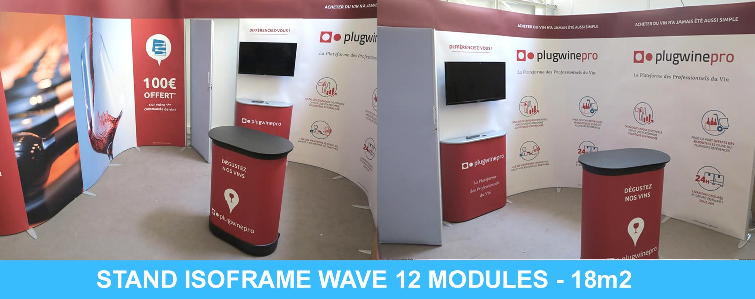 montage stand modulaire