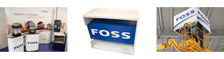 détail des produits d'exposition pour Foss