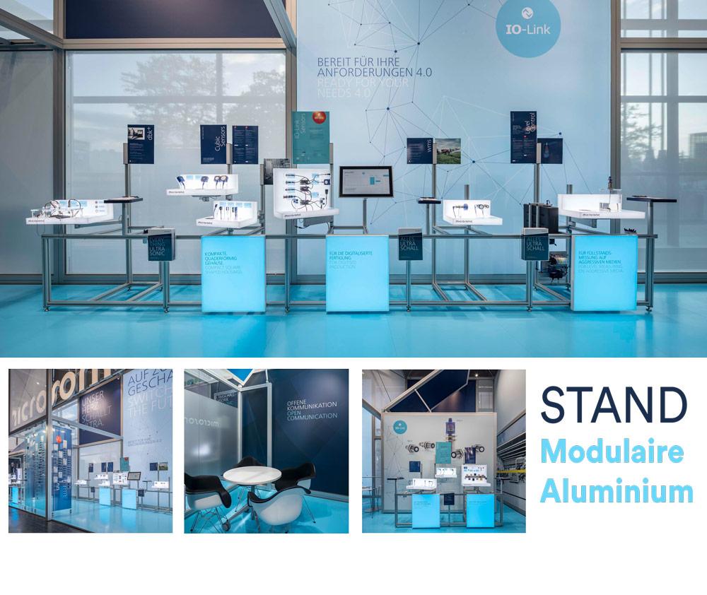 stand modulaire aluminium