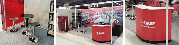 stand d'exposition BASF