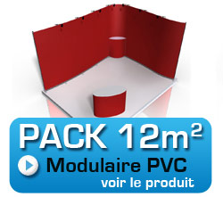 pack stand modulaire 12m2
