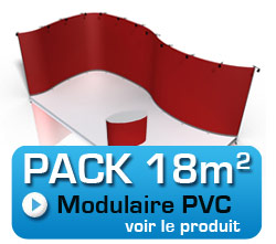 pack stand modulaire 18m2