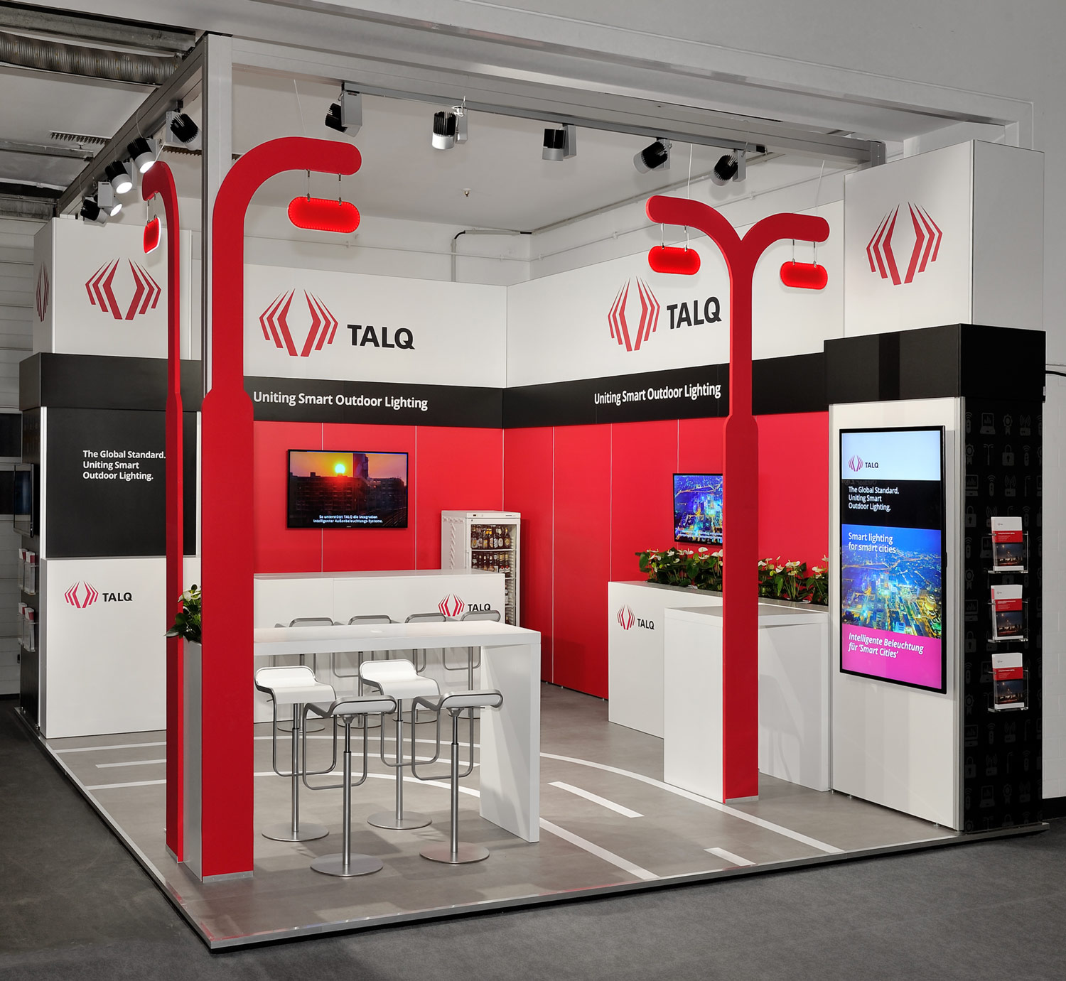 stand modulaire carré