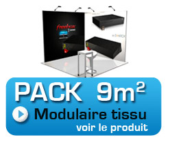 pack stand modulaire 9m2