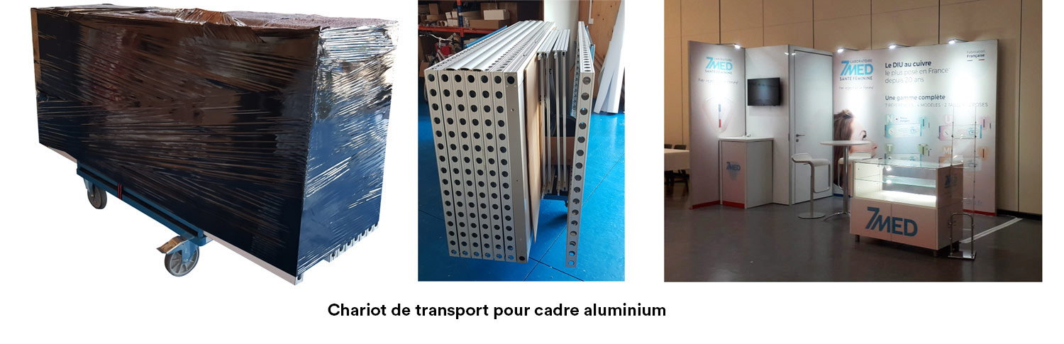 transport des stands