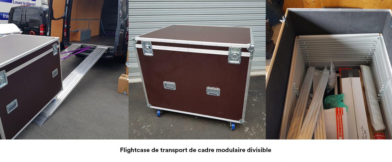 transport des stands