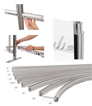 profilés de stand modulaire Iso Frame